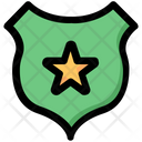 Badge Officer Police Icon