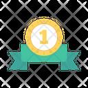 Medal Winner Ribbon Icon