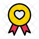 Badge Love Medal Icon