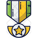 Badge Star Badge Medal Of Honour Icon