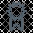 Prize Badge Black Friday Icon