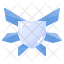 Flat Medal Quality Icon