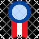 Ribbon Achievement Medal Icon
