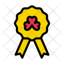 Badge Card Shamrock Icon