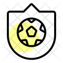 Badge Soccer Game Icon