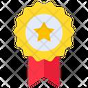 Badge Banner Star Icon