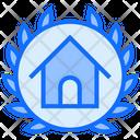 Badge Achievement Court Icon