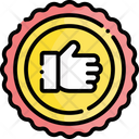 Badge Recommend Recommendation Icon