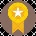 Badge Ribbon Star Icon