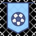 Badge Team Soccer Icon