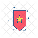 Badge Star Police Icon