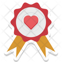 Badge Heart Badge Heart Emblem Icon
