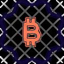 Badge Bitcoin Icon