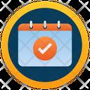 Badge Calendar Insignia Calender Emblem Icon