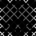 Badge Connection Premium Badge Icon