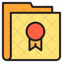 Badge Folder Icon