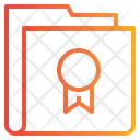 Badge Folder Icon