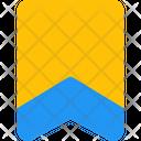 Badge One Stripe Badge Award Icon