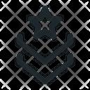 Badge star Icon