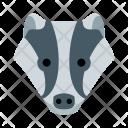 Badger Animal Icon