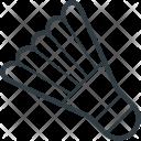 Badminton Birdie Shuttlecock Icon