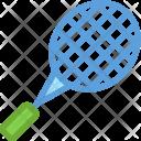 Badminton Racket Sports Icon