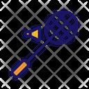 Game Badminton Shuttlecock Icon