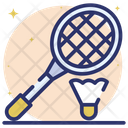 Racket Badminton Racket Sports Icon
