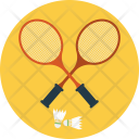 Racket Shuttle Court Icon