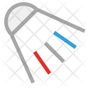 Badminton Game Shuttlecock Icon