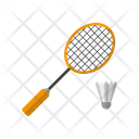 Badminton Game Sports Icon