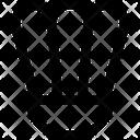 Badminton Game Shuttlecock Icon