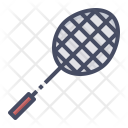 Badminton Shuttle Racket Icon
