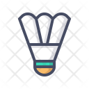 Badminton Bird Birdie Icon