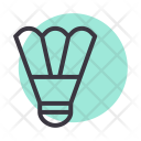 Badminton Bird Birdie Icon