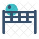 Net Tennis Badminton Icon