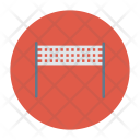 Badminton Net Icon
