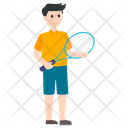 Badminton Player Summer Olympics Olympics Sports Icon