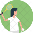 Score Racket Shuttle Icon
