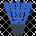 Badminton Shutter Sport Icon