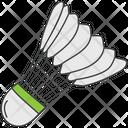 Badminton Shuttle Shuttlecock Sports Equipment Icon