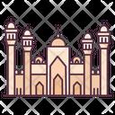 Badshahi Mosque Lahore Landmark Badshahi Masjid Icon
