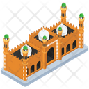 Badshahi Mosque Imperial Mosque Famous Mosque Icon