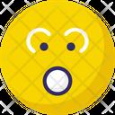 Baffled Emoticon Stare Emoticon Emoticons Icon