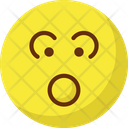 Baffled Emoticon Stare Emoticon Emoticons Icon