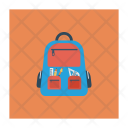 School Bag Carry Icon