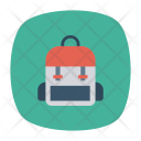 Bag School Handbag Icon