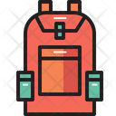 Bag Backpack Camping Icon