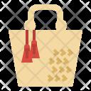 Bag Vintage Handmade Icon