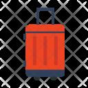 Bag Luggage Trolley Icon